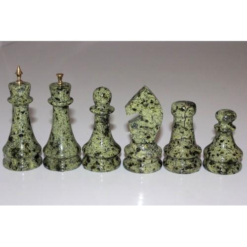 """Шахматы """"Змеевик-бронза"""" 38.7 х 38.7 см"""