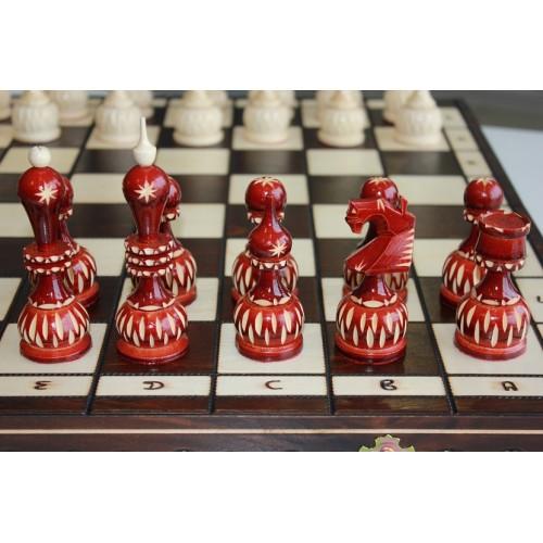 """Шахматы """"Сказочные"""" резные"""