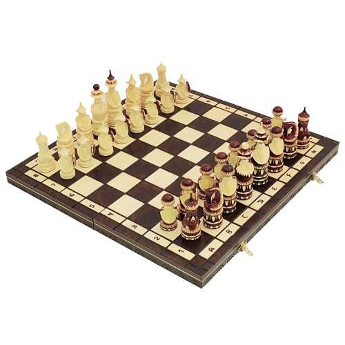"Шахматы ""Треуголки"" резные"