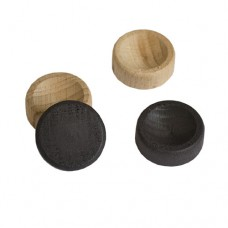 Фишки из бука , диаметр 2.5 см., подклеены тканью