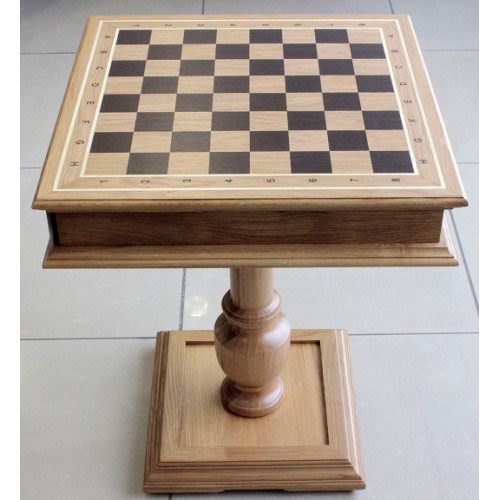 "Шахматный столик ""Дубовый"" без фигур"