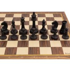 Шахматные фигуры из бука №1 (утяжеленные)