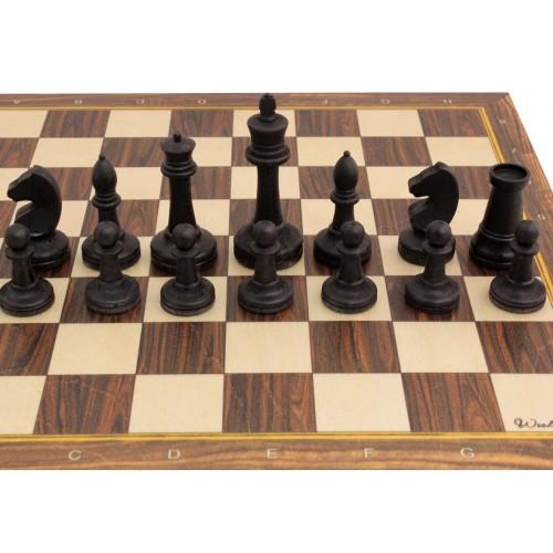Шахматные фигуры из бука №2 (утяжеленные)