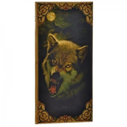 """Нарды 2 в 1 """"Волк"""" большие"""