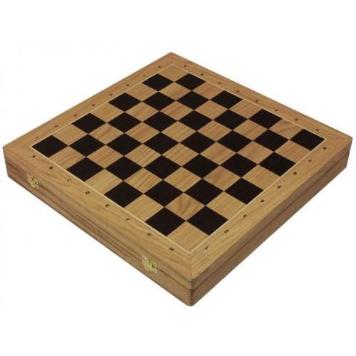 "Шахматная доска ларец ""Дуб"" (43.5 х 43.5 см.)"